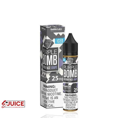 Iced Purple Bomb - VGOD SaltNic 30ml - E-Liquids | E-juice Clearance