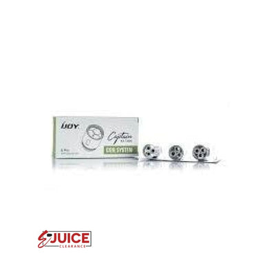 iJoy Captain X3 Replacement Coils - (3 Pack) - E-Liquids | E-juice Clearance