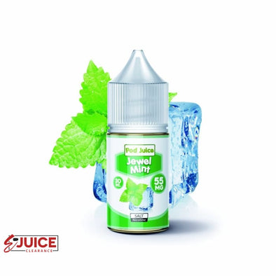 Jewel Mint - Pod Juice 30ml - E-Liquids | E-juice Clearance