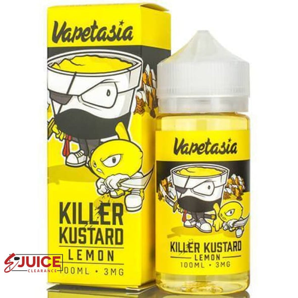 Killer Kustard Lemon - Vapetasia 100ml - E-Liquids | E-juice Clearance