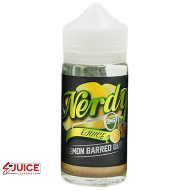 Lemon Barred Out - Nerdy E-Juice 100ml - E-Liquids | E-juice Clearance