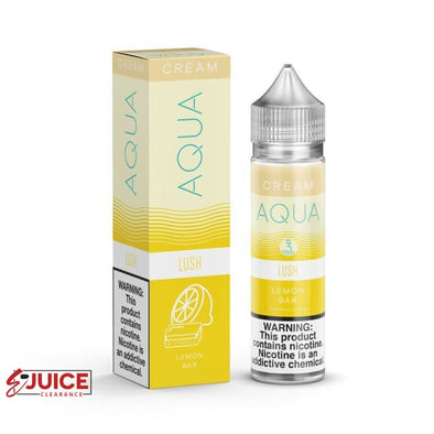 Lush - AQUA Cream E-Juice 60ml - E-Liquids | E-juice Clearance