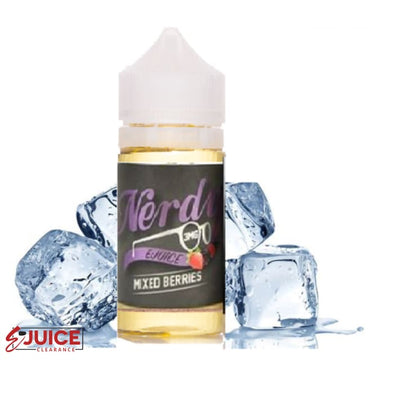 Mixed Berries Chilled Out - Nerdy E-Juice 100ml - E-Liquids | E-juice Clearance