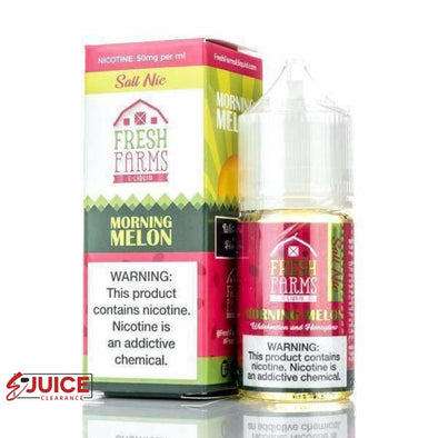 Morning Melon - Fresh Farms Salt 30ml - E-Liquids | E-juice Clearance