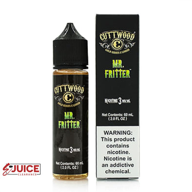 Mr. Fritter - Cuttwood 60ml - E-Liquids | E-juice Clearance