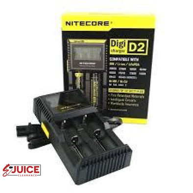 Nitecore D2 Battery Charger - E-Liquids | E-juice Clearance