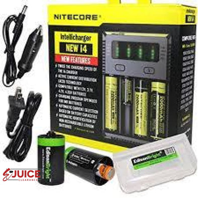 Nitecore New i4 Battery Charger - E-Liquids | E-juice Clearance