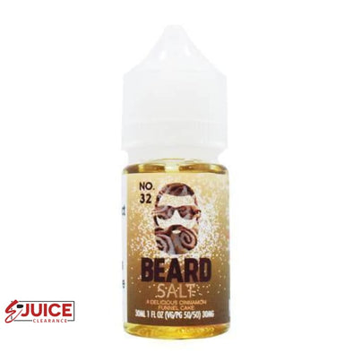 No. 32 - Beard Salt 30ml - E-Liquids | E-juice Clearance