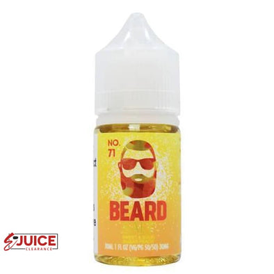 No. 71 - Beard Salt 30ml - E-Liquids | E-juice Clearance