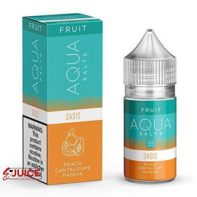 Oasis - AQUA Salt 30ml - E-Liquids | E-juice Clearance