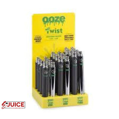 Ooze Twist Battery - E-Liquids | E-juice Clearance