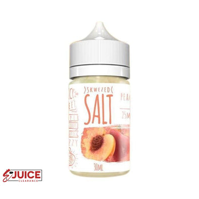 Peach - SKWEZED Salt 30ml - E-Liquids | E-juice Clearance