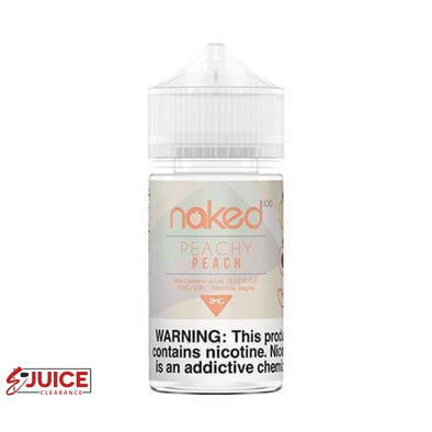 Peachy Peach - Naked 100 E-Liquid 60ml - E-Liquids | E-juice Clearance