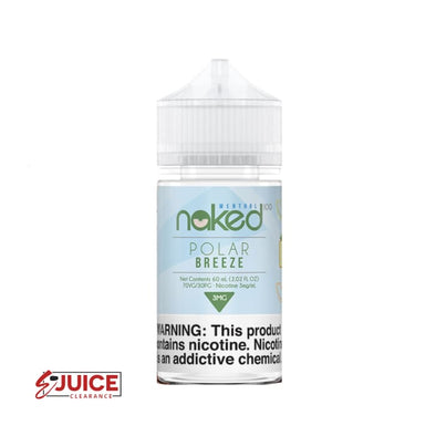 Polar Breeze - Naked 100 Menthol 60ml - E-Liquids | E-juice Clearance