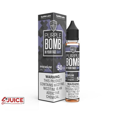 Purple Bomb - VGOD SaltNic 30ml - E-Liquids | E-juice Clearance