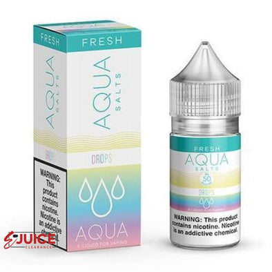 Rainbow Drops - AQUA Salt 30ml - E-Liquids | E-juice Clearance