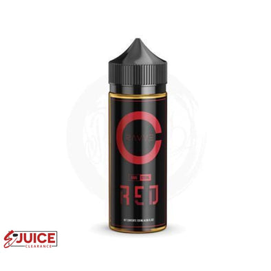 Red by Ruthless Cravve E-Juice 120ml - E-Liquids | E-juice Clearance