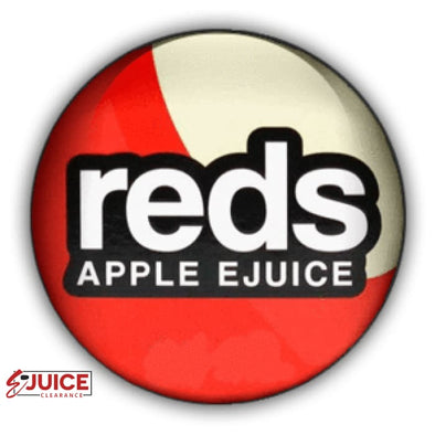 Reds Apple E-Juice Bundle - 3 Pack - E-Liquids | E-juice Clearance