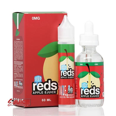 Red's Apple Iced - 7 Daze 60ml - E-Liquids | E-juice Clearance