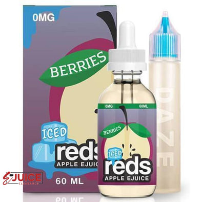 Red's Berries Iced - 7 Daze 60ml - E-Liquids | E-juice Clearance