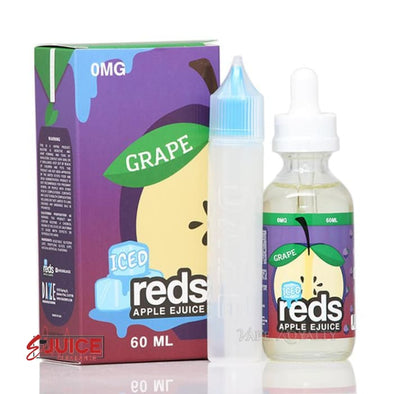 Red's Grape Iced - 7 Daze 60ml - E-Liquids | E-juice Clearance