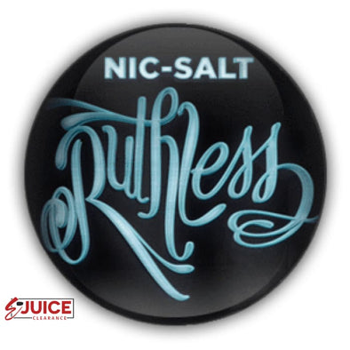 Ruthless Nicotine Salt Bundle - 3 Pack - E-Liquids | E-juice Clearance