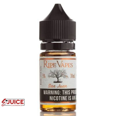 San Juan - Ripe Vapes Salt 30ml - E-Liquids | E-juice Clearance
