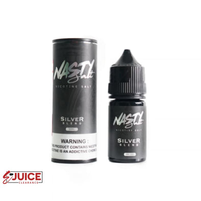 Silver Blend - Nasty Salt Reborn 30ml - E-Liquids | E-juice Clearance