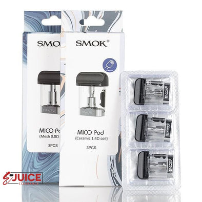 SMOK MICO Replacement Pod (3 Pack) - E-Liquids | E-juice Clearance