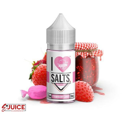 Strawberry Candy - I Love Salts 30ml - E-Liquids | E-juice Clearance