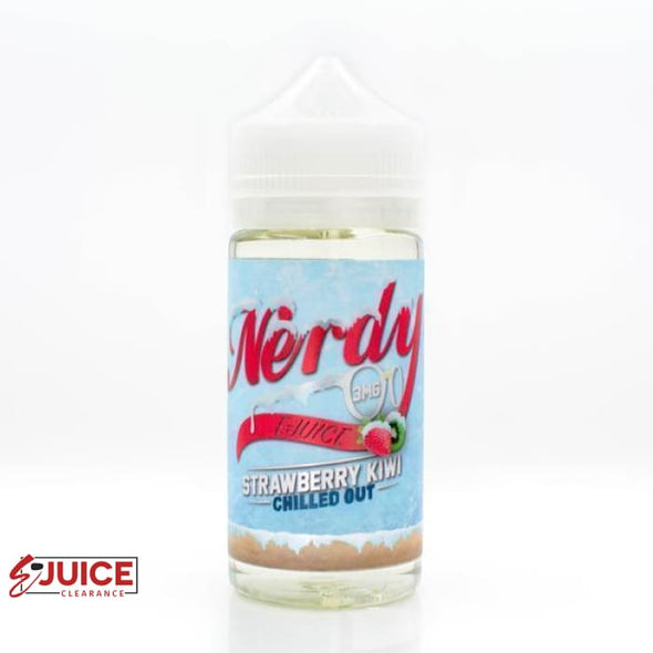 Strawberry Kiwi Chilled Out - Nerdy E-Juice 100ml - E-Liquids | E-juice Clearance