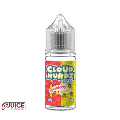 Strawberry Lemon - Cloud Nurdz Salt 30ml - E-Liquids | E-juice Clearance
