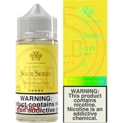 Strawberry Sours - Kilo Sour Series 100ml - E-Liquids | E-juice Clearance