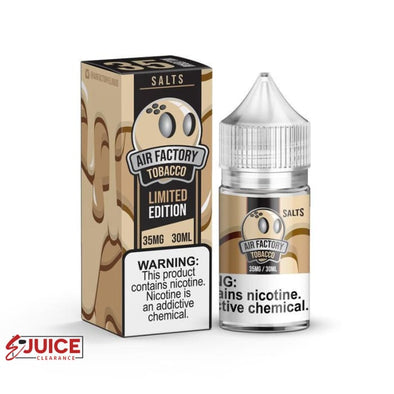 Tobacco - Air Factory Salt 30ml - E-Liquids | E-juice Clearance