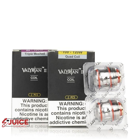 Valyrian II 2 Replacement Coils - (2 Pack) - E-Liquids | E-juice Clearance