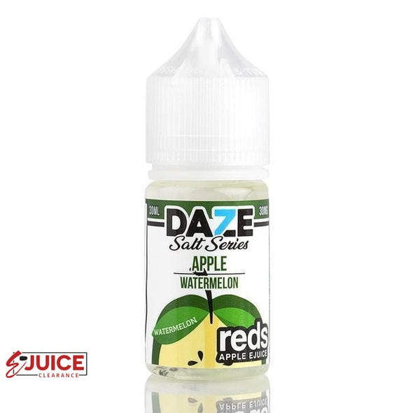 Watermelon Reds Apple - 7 Daze Salt 30ml - E-Liquids | E-juice Clearance