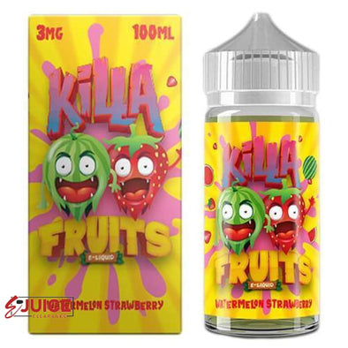 Watermelon Strawberry - Killa Fruits 100ml - E-Liquids | E-juice Clearance