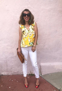 Bougey Beachy Brunch Blouse