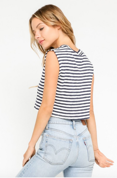 Striped Beachy Tank