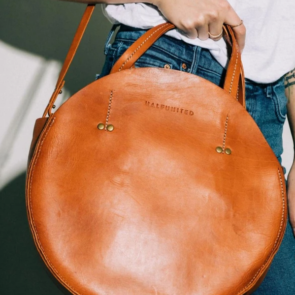 Round Bag - Cognac