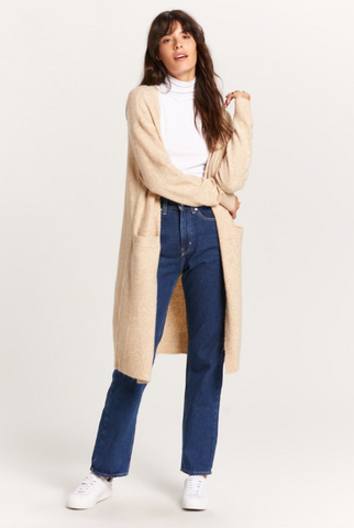 Lounging Duster - Oatmeal