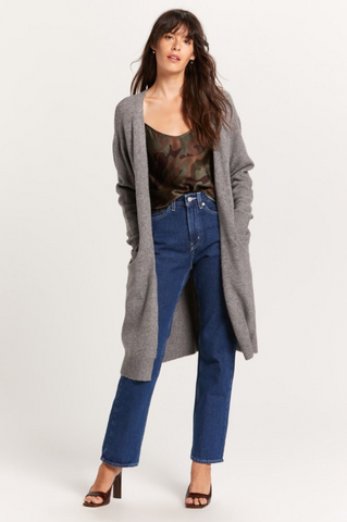 Lounging Duster - Grey