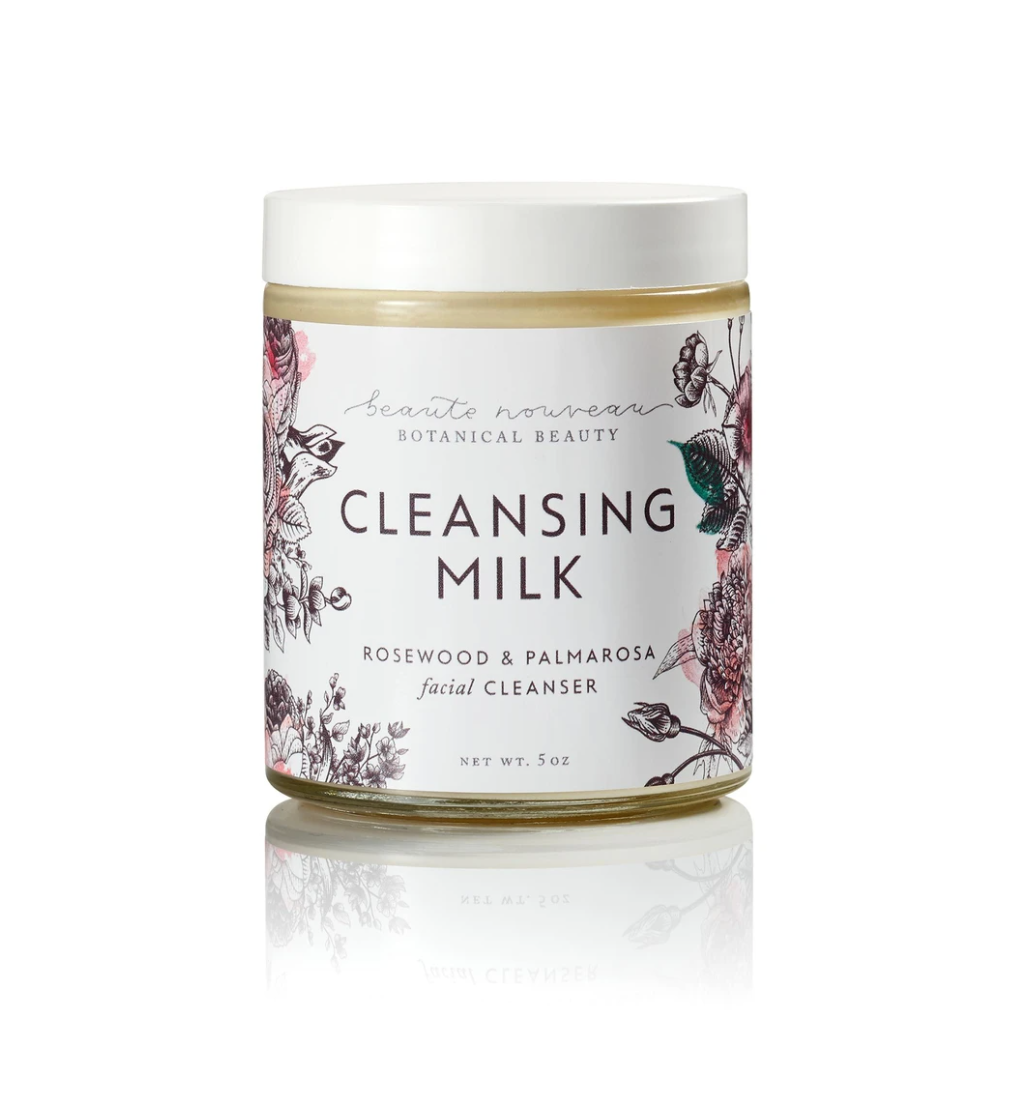 Cleansing Milk in Rosewood & Palmarosa