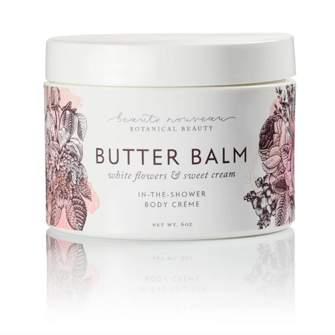 Butter Balm - White Flowers & Sweet Cream