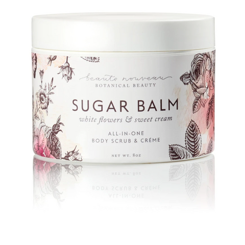 Sugar Balm - White Flowers & Sweet Cream