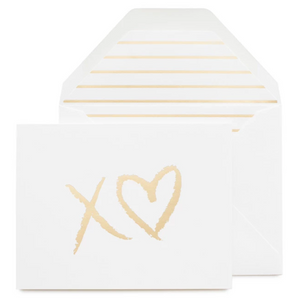 XO Heart Card