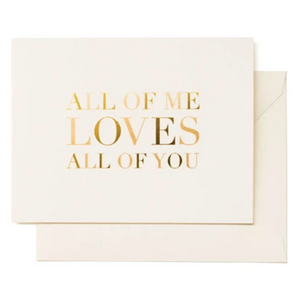 All of You Card