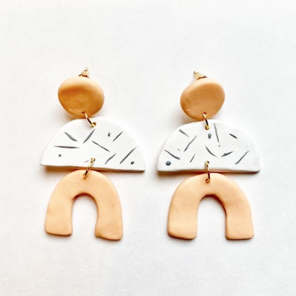 clay makers earrings