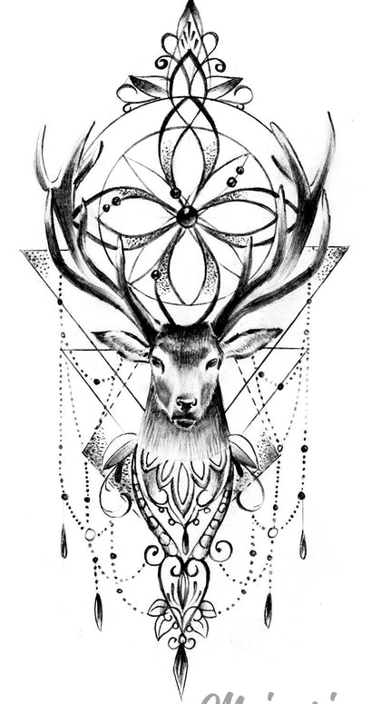 animals tattoo design reference