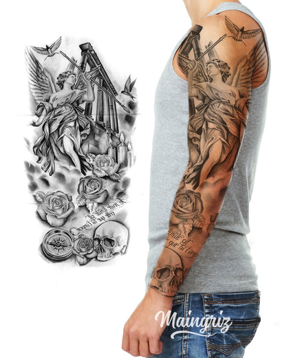 sleeve tattoo design references